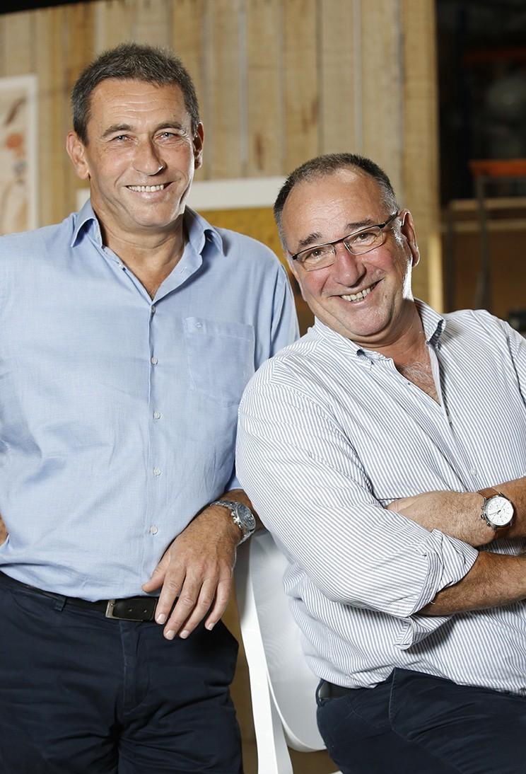 Patrice Mengelle et Philippe Moureton